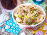 Shrimp & Veggie Pasta Salad with Lemon-Herb Vinaigrette