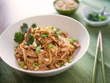 Spicy Thai Chicken Peanut Noodles