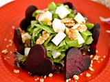 Special Valentine's Day : Heart Shaped Beetroot's Salad