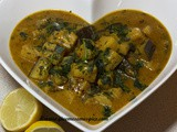 Aubergine and Pineapple Curry