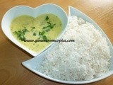 Gujarati Kadhi with fenugreek