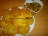 Jeera Puris (Deep fried Spicy Indian bread)