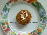 Magaj for Diabetics (a Chick pea flour Indian sweet suitable for diabetics)
