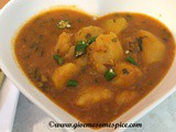 Mathura ke Aloo (Spicy potato curry from mathura)