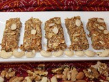 Mixed Nuts Barfi with Dates