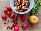 Pomegranate and Apple Salsa