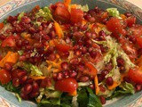 Pomegranate Salad with Orange Dressing