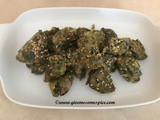 Slimmers friendly Vegan Spinach Muthiya/spinach dumplings – Instant Pot