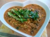 Sprouted Mung beans curry