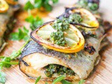 Broiled Trout with Parsley and Oregano {Gluten-Free, Dairy-Free, Paleo, Whole30, Keto}