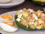 Healthy Avocado Tuna Egg Salad {gf, df}