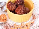 Honey Chocolate Cashew Truffles {gf, df} and a Giveaway