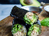 Nori Wraps with Paleo Tuna Salad {gf, df, Paleo}