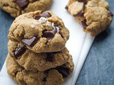 Paleo Chocolate Chip Cookies with Tahini {Gluten-Free, Dairy-Free}