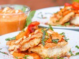 Red Snapper Fish with Romesco Sauce {gf, df}