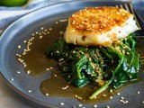 Seared Chilean Sea Bass Recipe with Asian Sauce