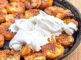 Vegan Sweet Plantains with Coconut Cream {Gluten-Free}