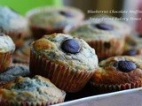 Blueberries Chocolate Muffins + Cornflakes Cookies (School Fundraising)