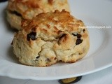 Chocolate Cranberry Yogurt Scones (Bake Along #27)