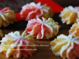 Dahlia Butter Cookies (Strawberry Flavour) 草莓口味花开福贵牛油饼
