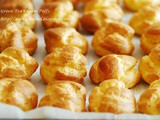 Green Tea Cream Puffs 绿茶泡芙
