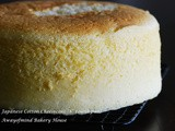 Japanese Cotton Cheesecake (8  round pan)
