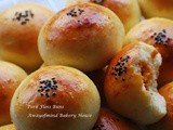 Pork Floss Buns 肉鬆面包 (65C Tangzhong Method)