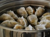 Steamed Vegetables Dumplings: baby boab tubers (Chai Kueh ii)