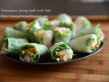 Vietnamese Spring Rolls with Tofu