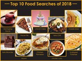 10 Most Searched Foods of 2018