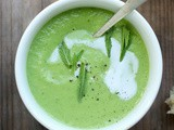 Avocado and Mint Soup
