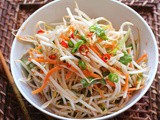 Carrot and Bean Sprout Salad