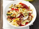 Farfalle with Grilled Vegetables