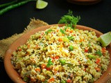 Foxtail Millet Coconut Milk Pulao (Thinai Thengai pal Pulao)
