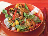 Shrimp and Mango Stir-fry