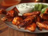 Spicy Mustard Chicken Wings