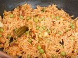 Tomato Cheese Pulao