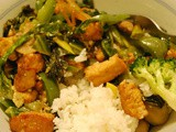 Vegetable Tofu Stir-Fry