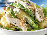 Warm Potato and Chicken Salad