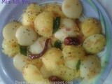 Mini idli fry ( kids special)