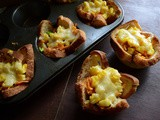 Bread Cups | Bread Veggie Cups | Kids Recipe