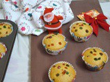 Eggless Tutti Fruity Muffins | Multi Grained Muffins | Christmas Bakes