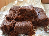 Fudgy Brownies | Double Chocolate Brownies