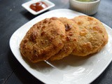 Green Peas Kachori | Mattar Stuffed Kachori