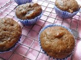 Healthy Dates Muffins  | Eggless and Butterless