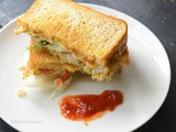 Omelette Sandwich | Bread Omelette Sandwich | East Breakfast Recipe