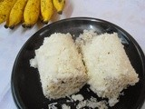 Rice Flour Puttu | Steamed Rice flour cake | Kerala Breakfast Recipe