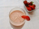 Strawberry Milk Shake | Easy Drink