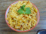 Tomato Rice | Left Over Rice Recipe | Easy Lunch Box
