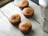 Whole Wheat Choc Chips Cupcakes